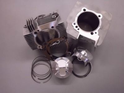 kit cilindri e pistoni completi da 102mm per motori ducati 2 valvole