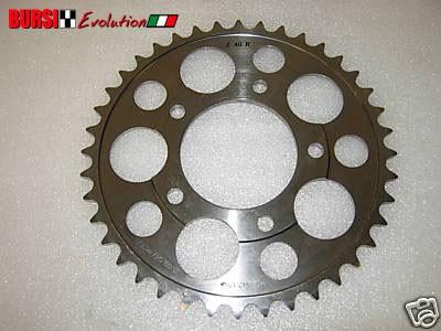 Corona Marchesini in titanio da 40 per Ducati, Honda, Suzuki, Kawasaki