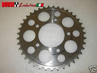 Corona Marchesini in titanio da 39 per Ducati, Honda, Suzuki, Kawasaki