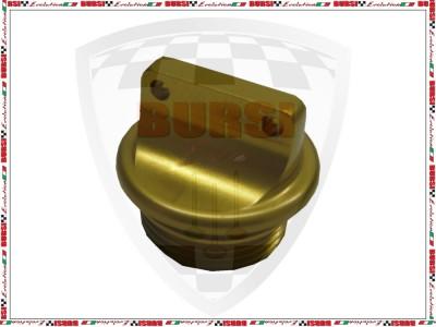 Tappo olio in Ergal oro