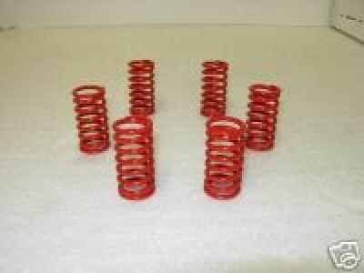 Kit 6 molle per Frizione a secco ducati . Colore Rosso