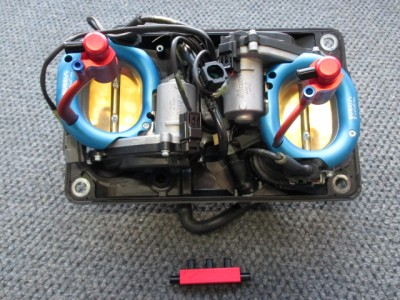 TROMBETTE BASSE IN ERGAL BY BURSI 2.0  PER DUCATI 1199 PANIGALE