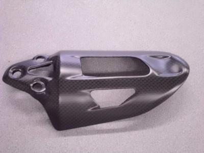Cover ammortizzatore Ducati 899/  1199 Panigale carbonio OPACO