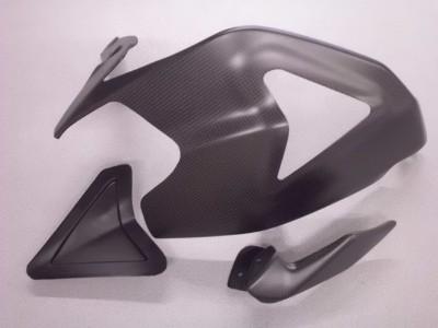 Cover protezione forcellone Ducati 1199 Panigale carbonio OPACO