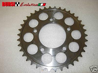 Corona Marchesini in titanio da 38 per Ducati, Honda, Suzuki, Kawasaki